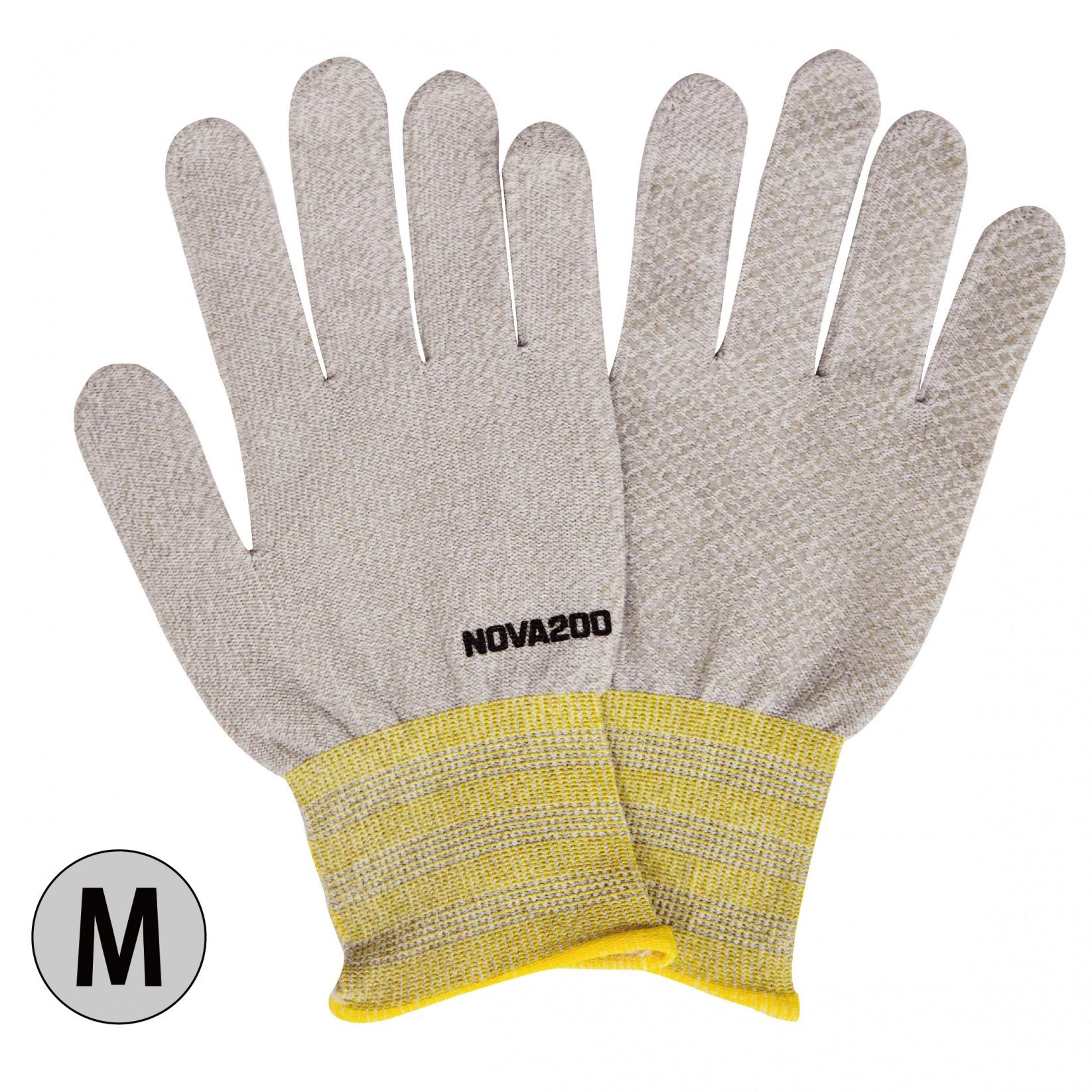 銅イオン手袋「抗菌効果」NOVA200 _アイボリーミックス