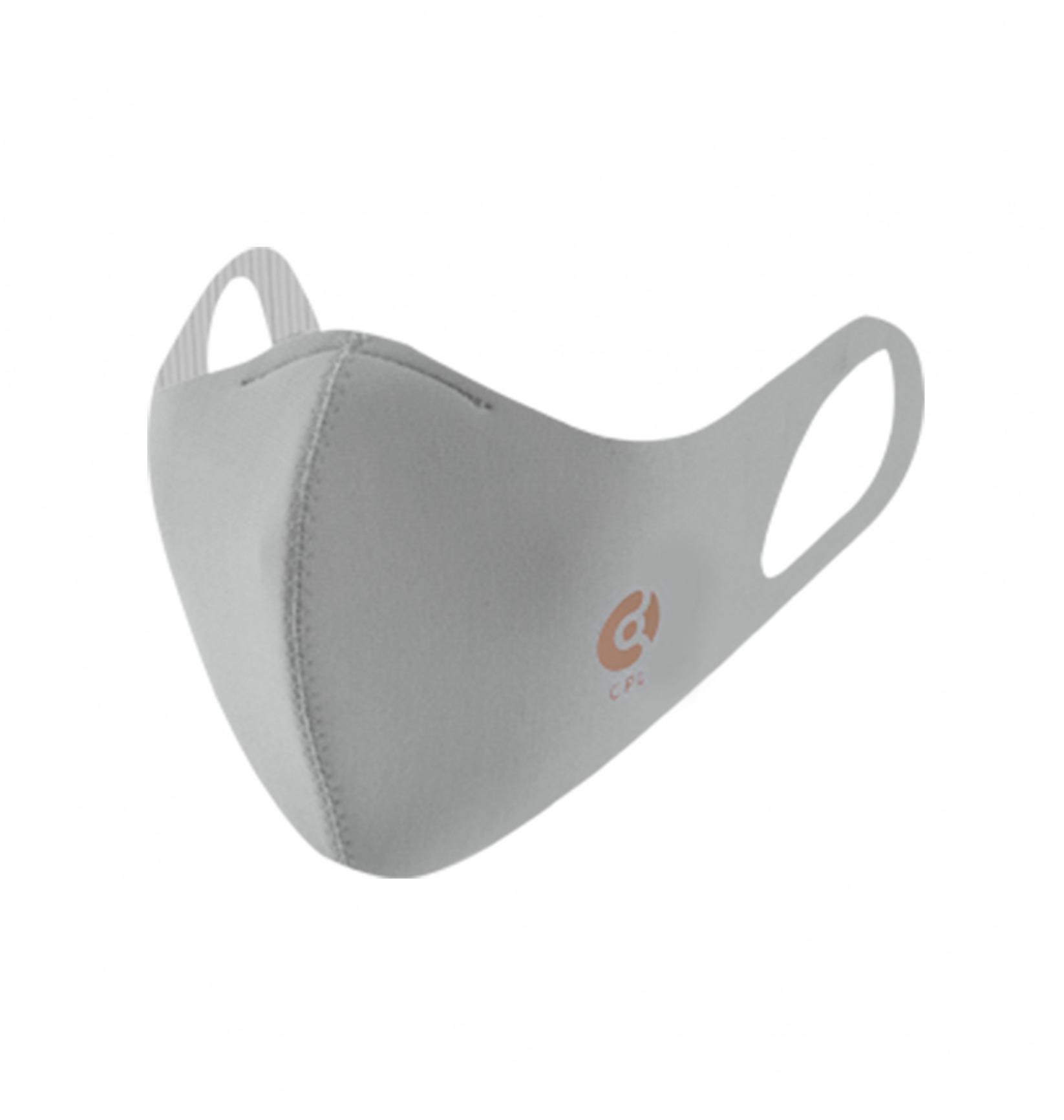 コパーライン 銅抗菌マスク ライトグレー