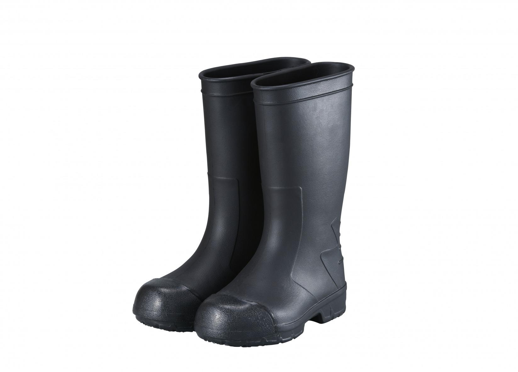 STICO WBM-12 安全長靴タイプ ブラック/ホワイト