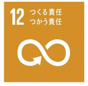 SDGsの例として目標12「つくる責任」