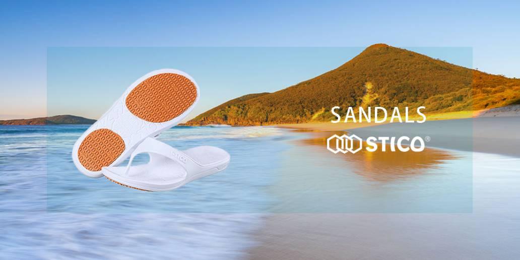STICOのビーチサンダル